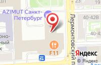 Схема проезда до компании Регистр в Санкт-Петербурге