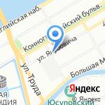 Кемира ХИМ на карте Санкт-Петербурга