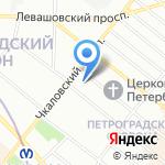 ТЭК на карте Санкт-Петербурга