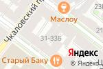 Схема проезда до компании ТЭК в Санкт-Петербурге