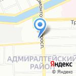 СпецТурс на карте Санкт-Петербурга