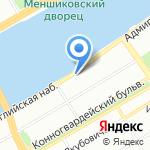 Управление Генеральной прокуратуры РФ в Северо-Западном федеральном округе на карте Санкт-Петербурга
