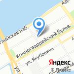РТЕ на карте Санкт-Петербурга