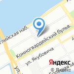Tiramisu Milk на карте Санкт-Петербурга