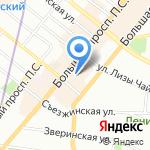 РусланD на карте Санкт-Петербурга