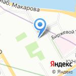 Студенческая столовая на карте Санкт-Петербурга