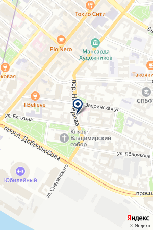 ПРОИЗВОДСТВЕННАЯ ФИРМА БАЛТИЙСКИЕ ДВЕРИ на карте Санкт-Петербурга