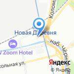 ГЕТ ОЛЛ на карте Санкт-Петербурга
