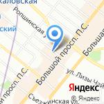 ELITE на карте Санкт-Петербурга