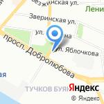 НОРД-ВЕСТ на карте Санкт-Петербурга