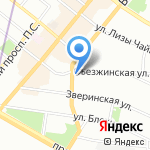 REvision на карте Санкт-Петербурга