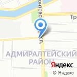 Белорусский гастроном на карте Санкт-Петербурга
