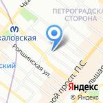 Комиссионторг СПб на карте Санкт-Петербурга