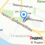 Пакс на карте Санкт-Петербурга
