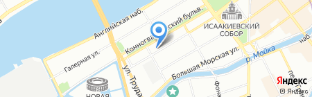 Arkan на карте Санкт-Петербурга