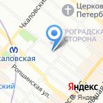 Эрбауэр на карте Санкт-Петербурга