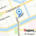 Витал на карте Санкт-Петербурга