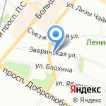 Бисквит на карте Санкт-Петербурга