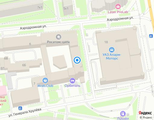 Управляющая компания «Балтийский Дом» на карте Санкт-Петербурга