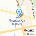 Ежедневник на карте Санкт-Петербурга
