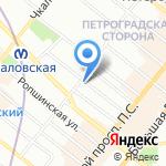 Олюшка на карте Санкт-Петербурга