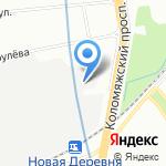 МСД Холдинг на карте Санкт-Петербурга