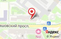 Схема проезда до компании Торнадо в Санкт-Петербурге