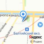 Совет на карте Санкт-Петербурга