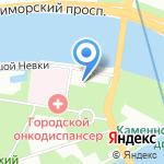 Явара-Нева на карте Санкт-Петербурга