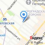 Водопроводчик Иванов на карте Санкт-Петербурга