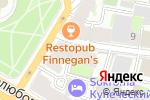 Схема проезда до компании Алето консалт в Санкт-Петербурге