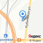 Гаражно-строительный кооператив №7 на карте Санкт-Петербурга