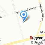 Новоколомяжское-1 на карте Санкт-Петербурга