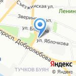 Каудаль на карте Санкт-Петербурга