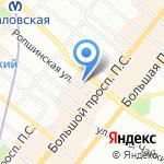 Сакура на карте Санкт-Петербурга
