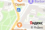 Схема проезда до компании Каудаль в Санкт-Петербурге