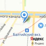 Take and Wake на карте Санкт-Петербурга
