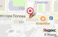 Схема проезда до компании Классарт в Санкт-Петербурге