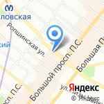 Bel Etage на карте Санкт-Петербурга