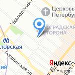 Meitan на карте Санкт-Петербурга