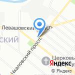 Jeans line на карте Санкт-Петербурга