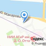 Мировые судьи Василеостровского района на карте Санкт-Петербурга