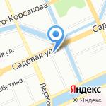 Узел связи на карте Санкт-Петербурга