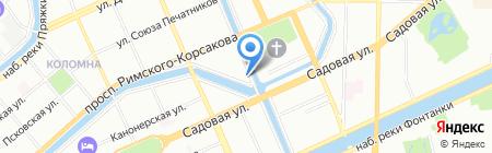 Райма ЭйрКонцепт Восток на карте Санкт-Петербурга
