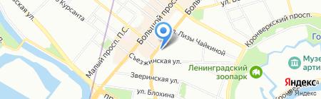 Банкомат СИАБ на карте Санкт-Петербурга