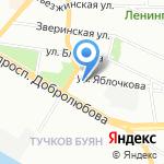 ПТГ Рус на карте Санкт-Петербурга