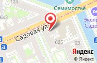 Схема проезда до компании Мегастиль в Санкт-Петербурге