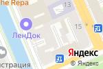 Схема проезда до компании Лентекс в Санкт-Петербурге