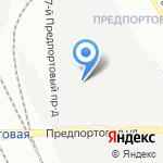 ТК ОКТАВА на карте Санкт-Петербурга