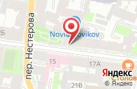 Схема проезда до компании Ависта в Санкт-Петербурге